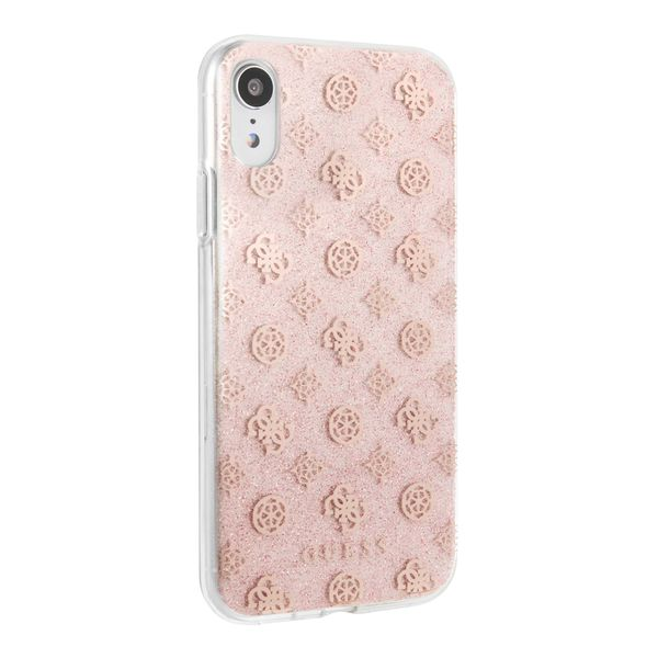 protector-guess-peony-solid-rose-gold-iphone-xr