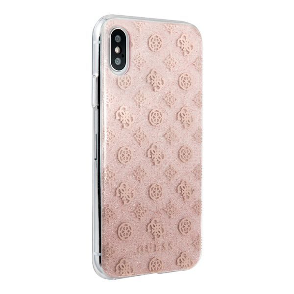 protector-guess-peony-solid-rose-gold-iphone-xs-x