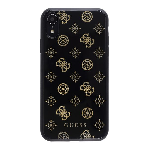 protector-guess-peony-glitter-negro-iphone-xs-x