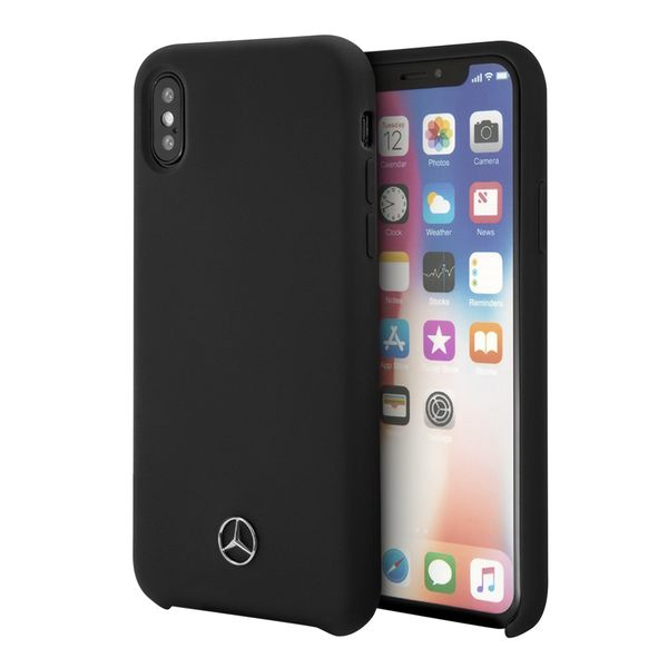 protector-mercedes-benz-silicon-negro-iphone-xs-x