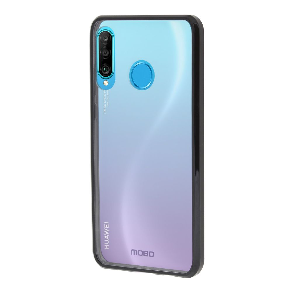Funda M/óvil Huawei P30 Magn/ético Carcasa para Huawei P30 Funda con Tapa MOBESV Funda para Huawei P30 Azul Oscuro//Violeta Funda Libro Huawei P30