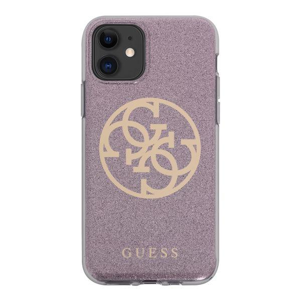 protector-guess-circle-rose-gold-iphone-11