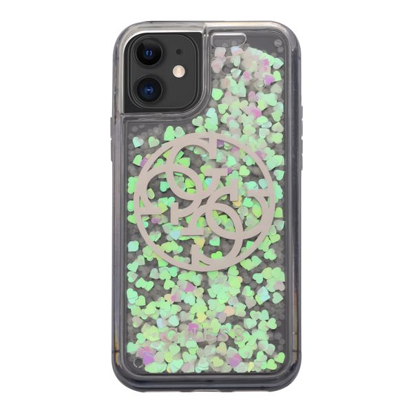 protector-guess-glitter-glow-plata-iphone-11