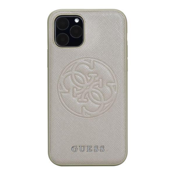 protector-guess-saffiano-logo-dorado-iphone-11-pro-max